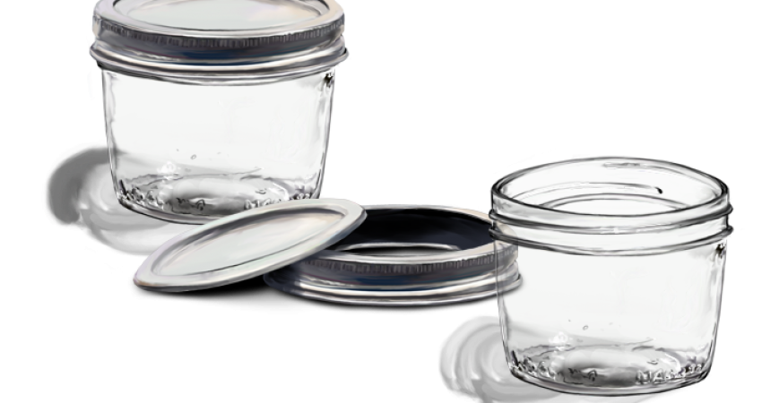 Befőttes üvegek fertőtlenítése