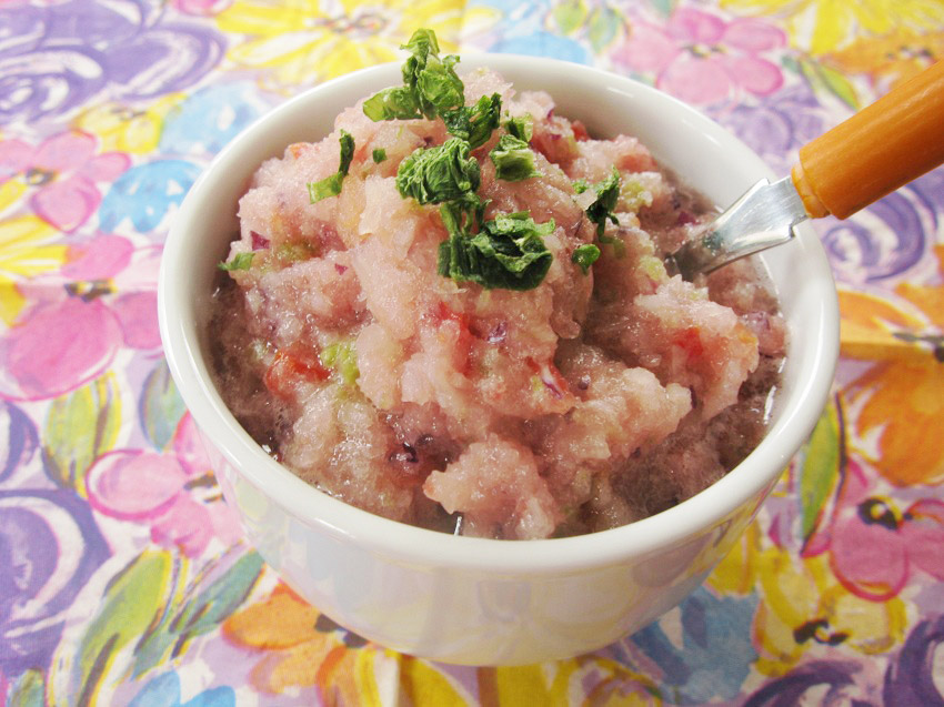 Ananászos salsa