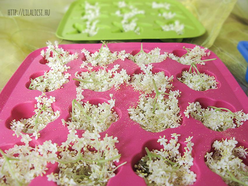 Készítsünk virágos jégkockát!