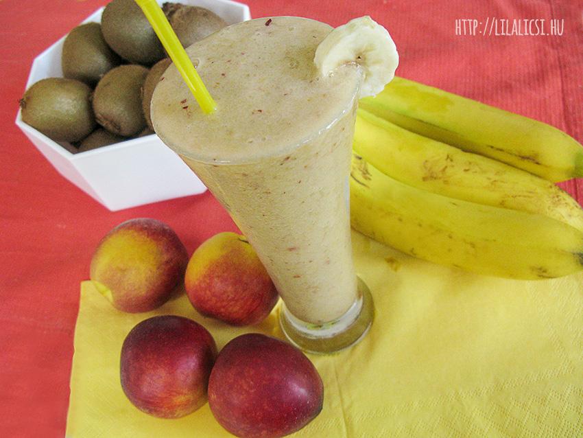 Banános, barackos jégkása - LilaLicsi.hu