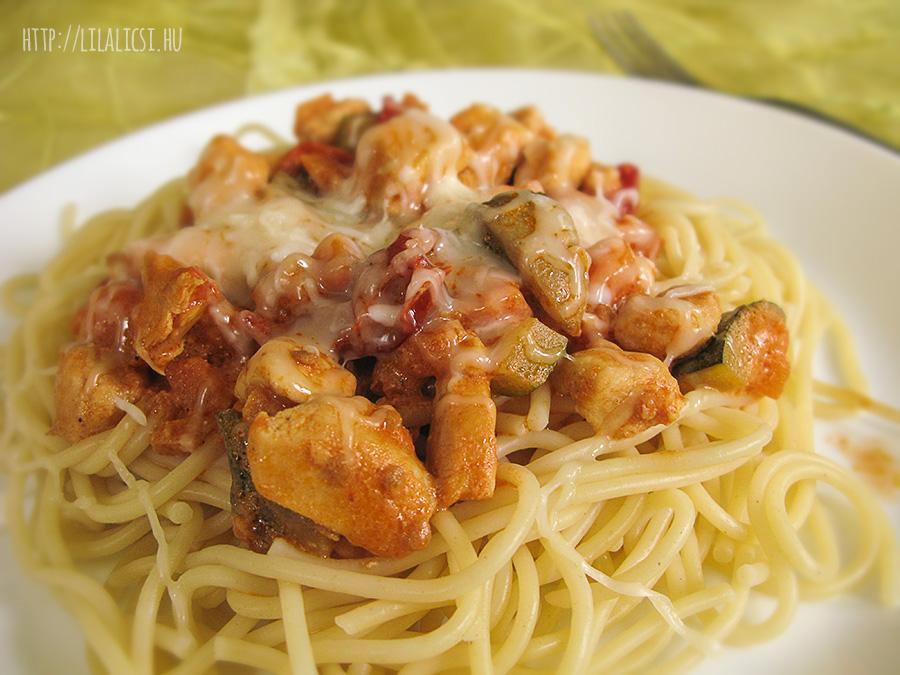 Mediterrán spagetti