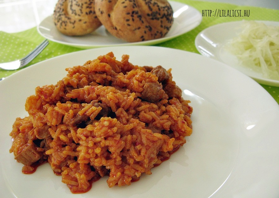LilaLicsi - rizses hús