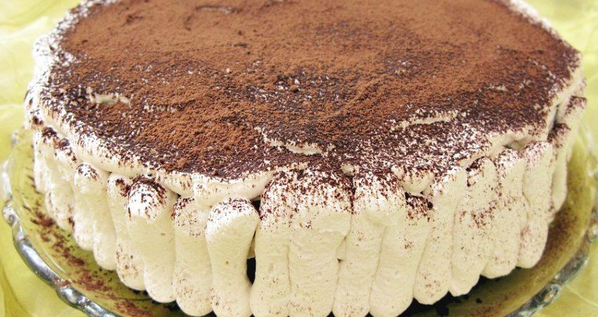 Csokoládétorta tejszínes krémmel
