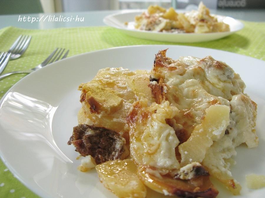 LilaLicsi - rakott krumpli
