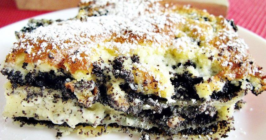 Mákos lasagne