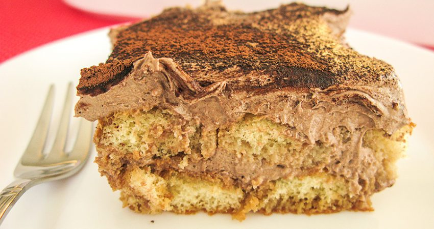 Tiramisu csokoládéval recept