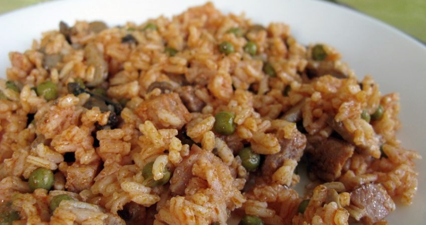 Tavaszi rizses hús recept