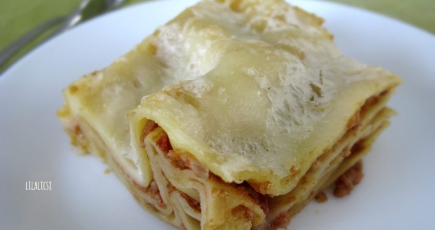 Lasagna recept